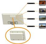 selfsat h21d2 flache satelliten antenne satelliten flachantenne mit 2 ausg ngen. Black Bedroom Furniture Sets. Home Design Ideas