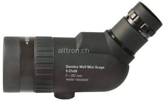 Doerr danubia spektiv wolf mini scope 27x50 variabler zoom inkl